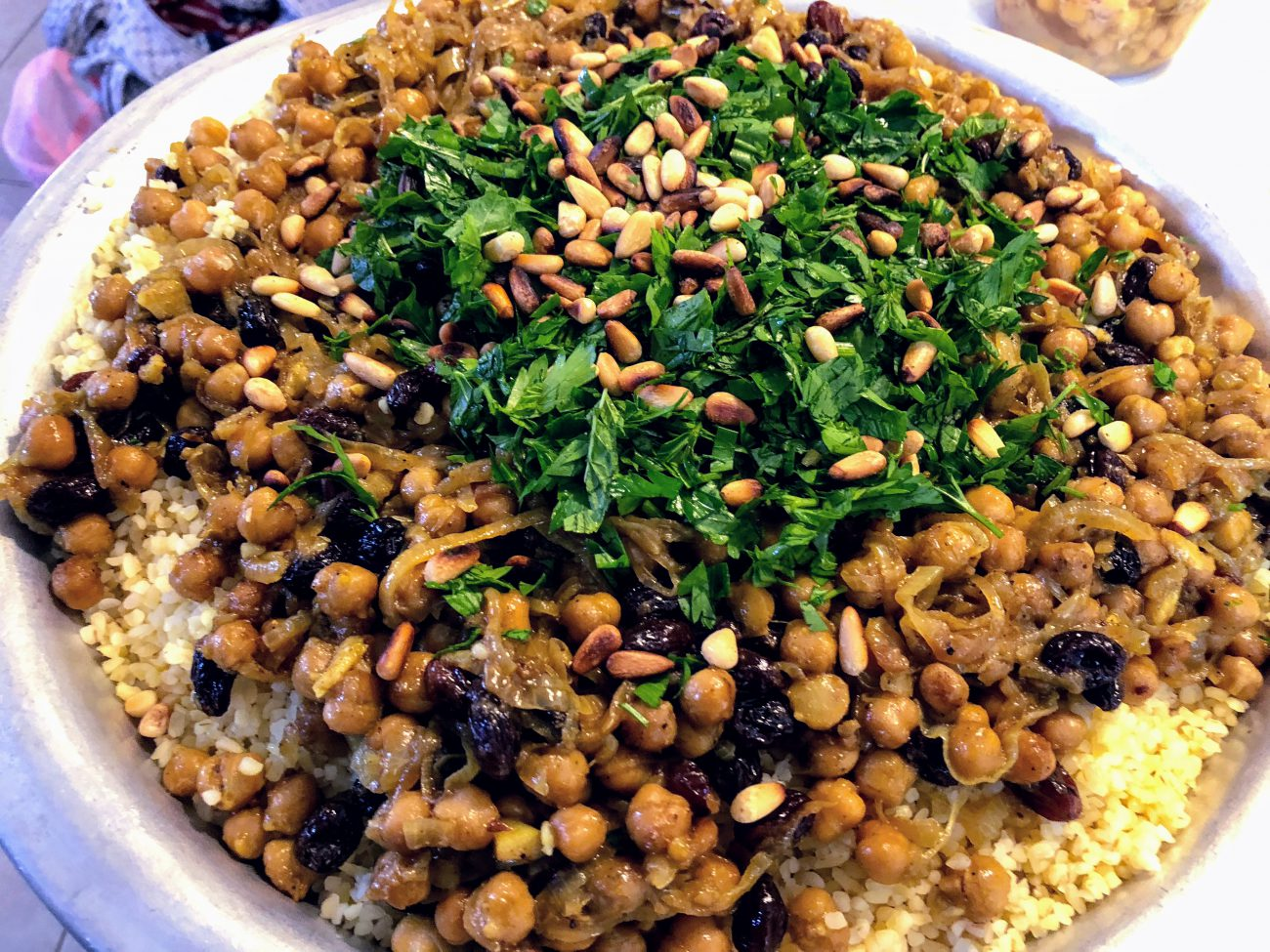 Bulgur with Chickpeas