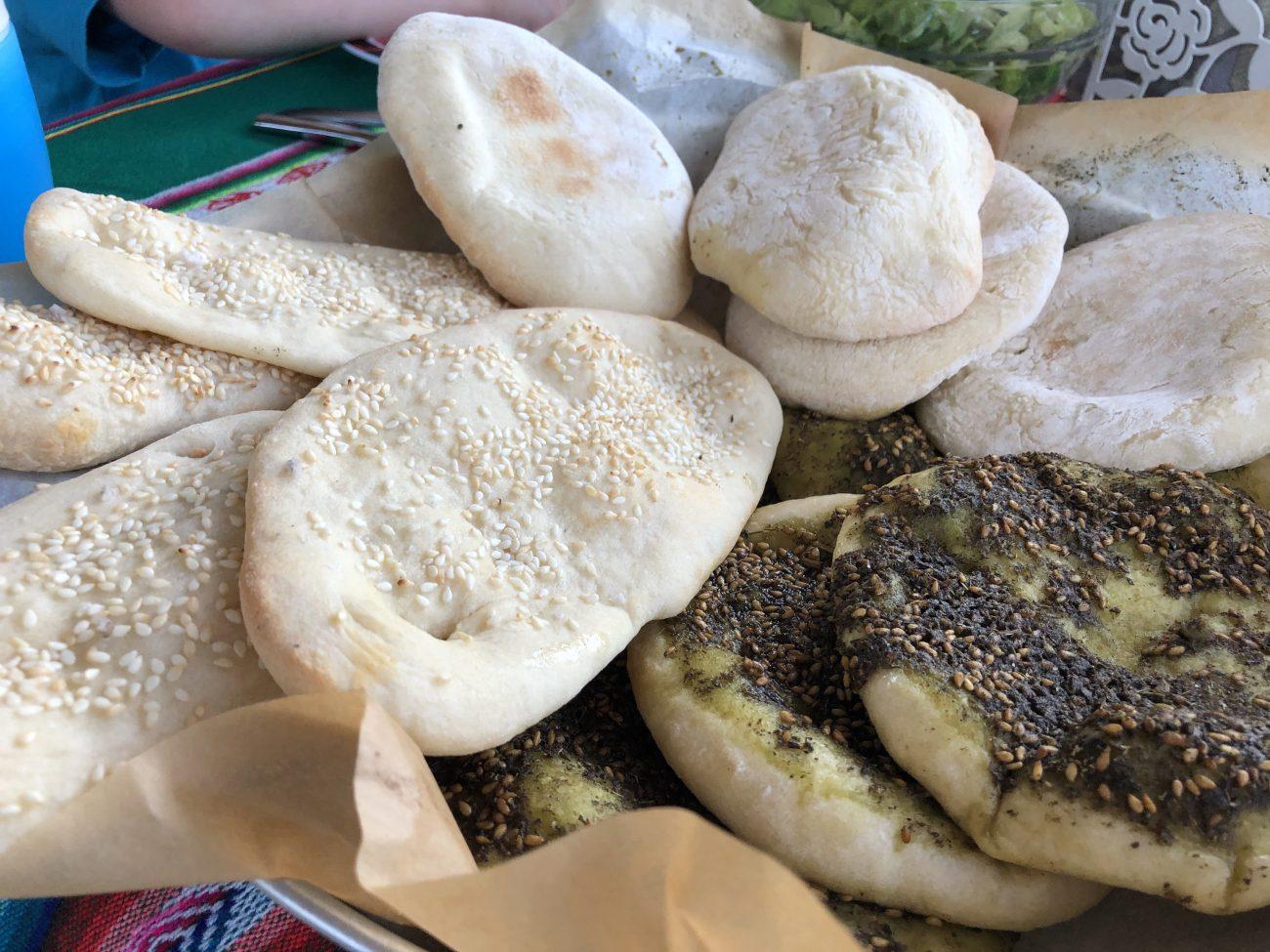 Pita Bread & Za'atar Manakeesh