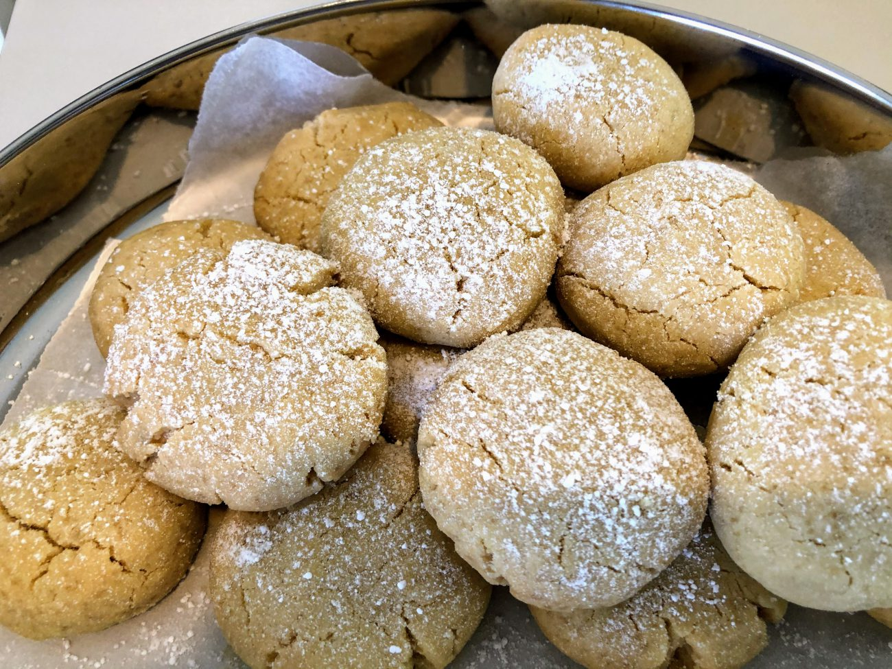 Tahini Butter Cookies